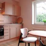 Die Küche der Gästewohnung